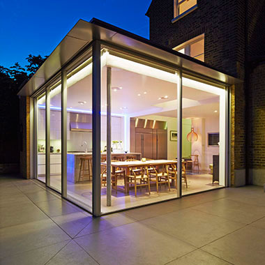 House extension in London